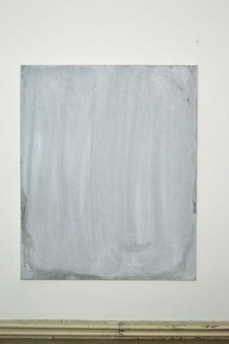 Mopped Acrylic #2  2013   acrylic on linen   115x140cm