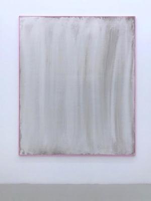 Mopped Acrylic #4 2015 acrylic on canvas 180x150cm