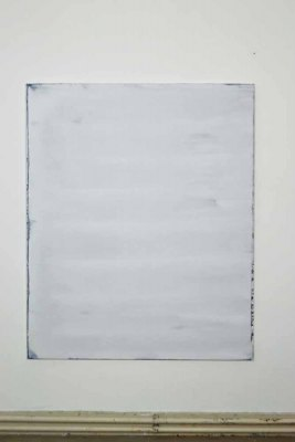 Washed Squeegee  #1 2014 acrylic on linen 140x115cm
